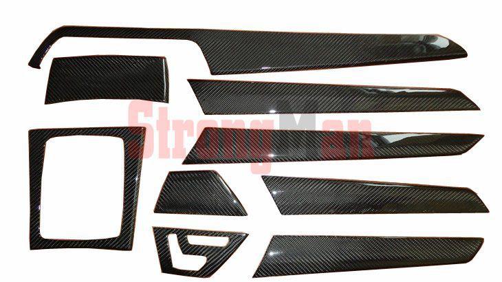 De fibra de carbono interior kits para mercedes benz clase for Mercedes benz upholstery kits