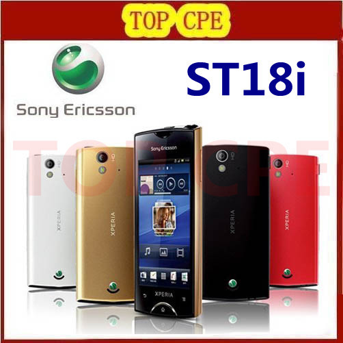 St18 Original Sony Ericsson Xperia Ray St18i Cell Phone Android GPS WIFI 8MP 3.3''TouchScreen Free Shipping(China (Mainland))