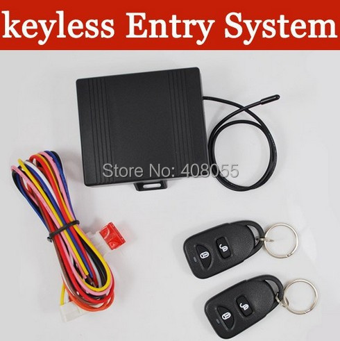Universal Remote Car Central Locking Control System Lock Locking Keyless Entry System central locking with Remote Controllers