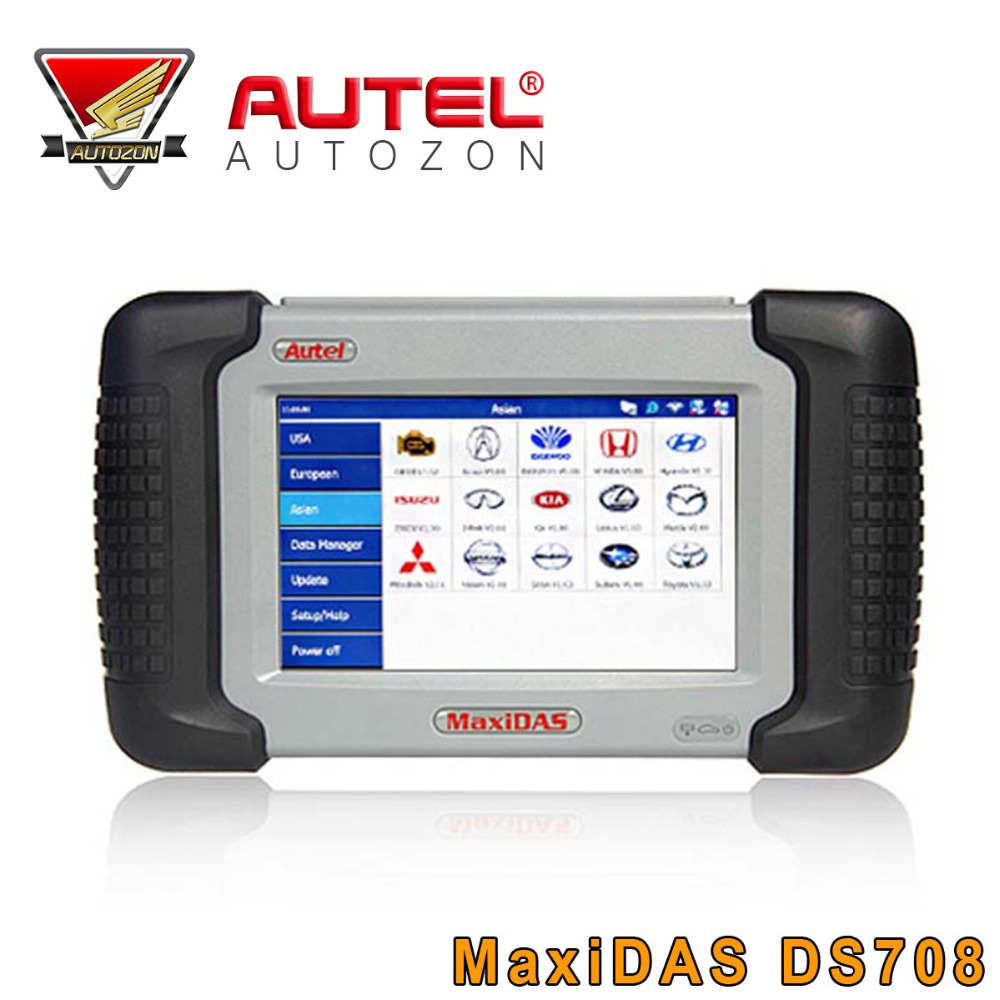 100% Original Autel DS708 Automotive Diagnostic and Analysis System Car Scan Diagnostic Tool Multi-language Free Update Online(China (Mainland))
