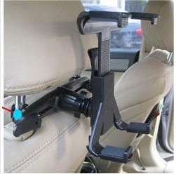 "Universal Car Mount Headrest for iPad 2 3 4 5 / 8""-14"" Tablet PC / GPS multi Holder Bracket Clip Car Seat Holder Stand"