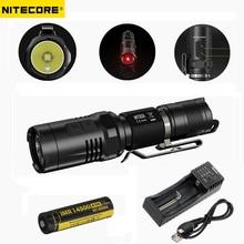 Nitecore MT10A Tactical Flashlight CREE XM-L2 U2 920 Lumen Led Flashlight+Nitecore IMR 14500 Rechargeable Battery+Power Charger - China Super light CO.,LTD store