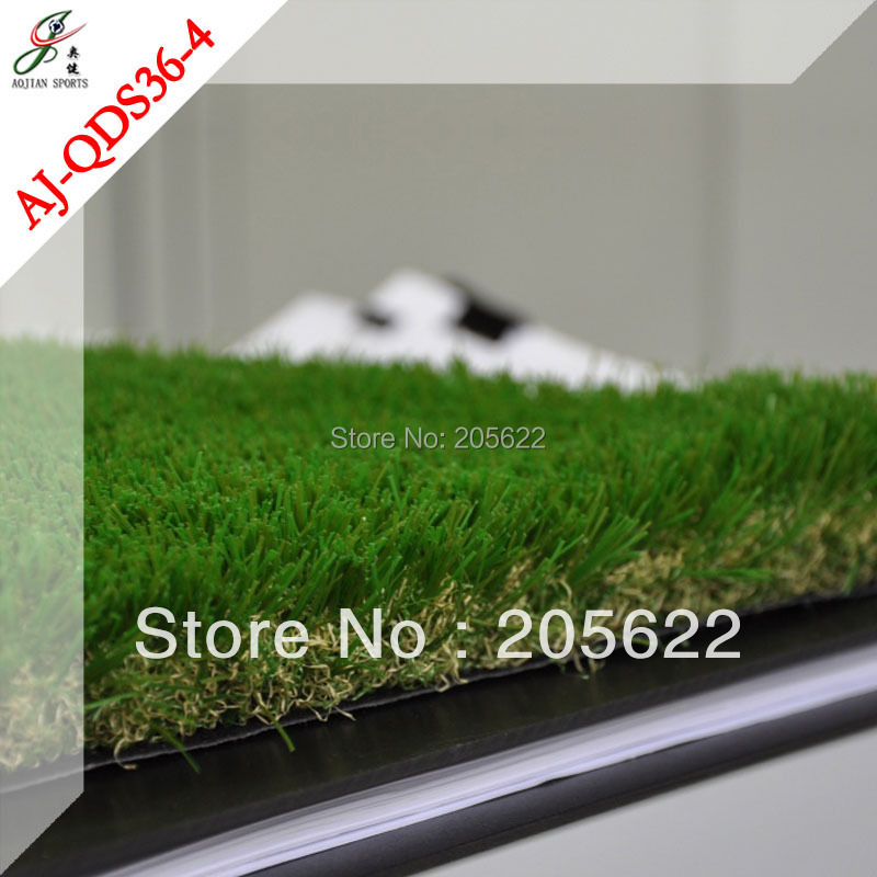 carpet of artificial grass for indoor decoration on