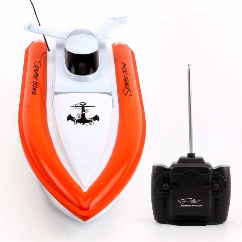 LEDOU Rc Boats Children Electric Toy Boat Radio Remote Control Rc Ship Speed Yacht Boat Charging Toys Boats Speedboat(China (Mainland))