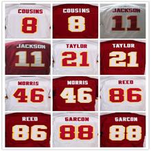 8 Kirk Cousins 11 DeSean Jackson 86 Jordan Reed 24 Josh Norman 46 Alfred Morris 21 Sean Taylor 88 Pierre Garcon(China (Mainland))