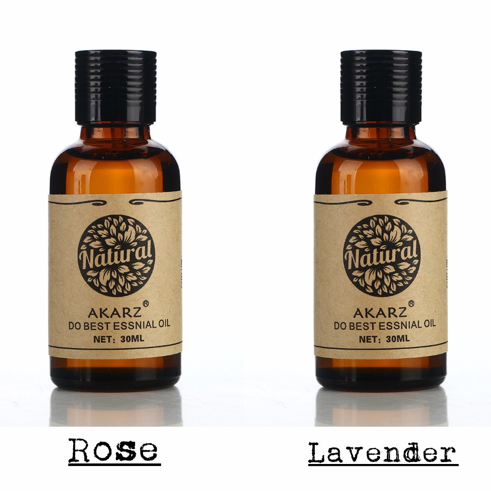 AKARZ Famous brand hair care set pure natural aromatherapy grape seed musk essential oil Repair skin care Massage Oil 30ml*2 cheap