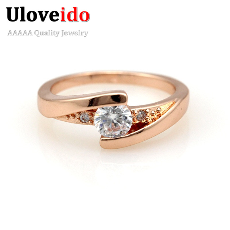 30 engagement rings simulated silver plated
