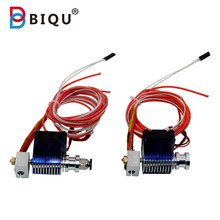 BIQU 3D Printer extruder E3D V6 3.0MM J-head hotend Bowden Filament Direct Filament Wade Extruder E3D Nozzle Kossel Prusa I3(China (Mainland))