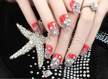 Promotions ss3 ss40 Crystal decorations Flat Back rhinestones for nails stones Non Hotfix Glue on 3d