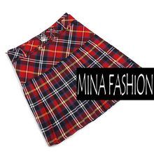 2016 Lovely Fashion Classic Skirt Plaid Preppy Style Mini Skirts Scotland Skirts Big Size S-XL WF-5172