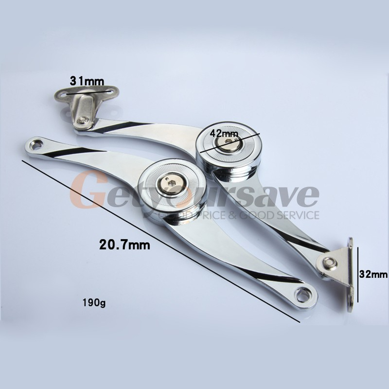 Furniture Cabinet Cupborad Door Soft Close Gas Lift Up Stay Support Hinge Damper -A#(China (Mainland))