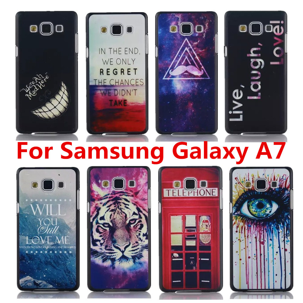 16 Style Perfect Design Painting Case Cover Samsung Galaxy A7 A7000 Original Back - Shenzhen CY group co., LTD store