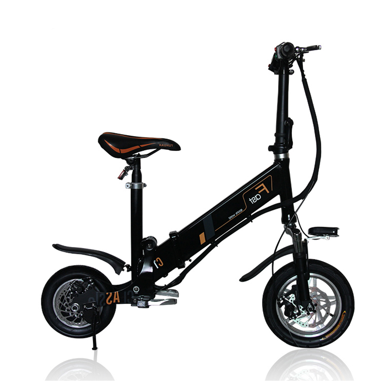mini electric folding bicycle 12inch folding bike instead of walking bicycle Light electric bike intelligent electric bicycle(China (Mainland))