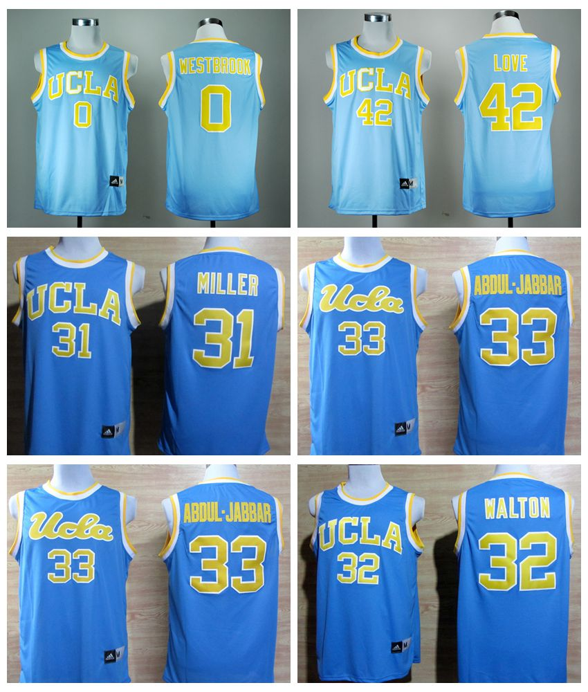 2016 new arrivals college,Kevin Love,UCLA Bruins,Troy Aikman,Josh Rosen,Bill Walton,Abdul-Jabbar,Reggie Miller,Russell Westbrook(China (Mainland))