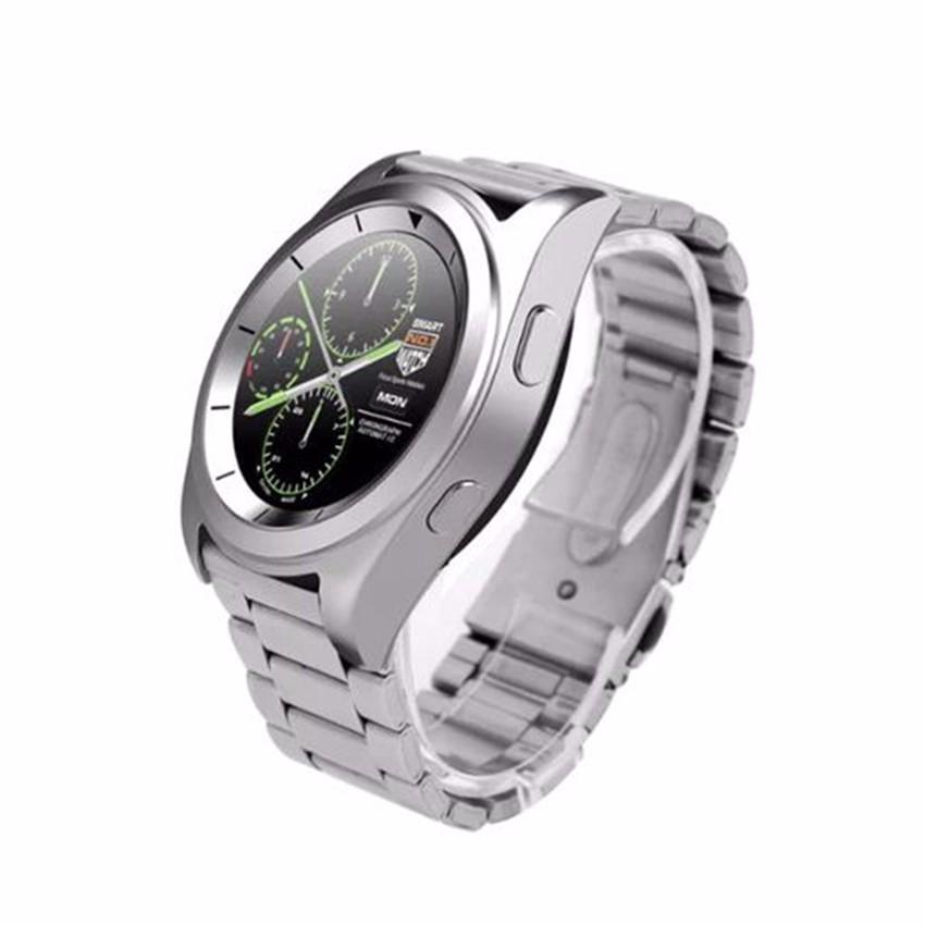 ถูก กีฬาบลูทูธไร้สายsmart watchบลูทูธ4.0 heart rate monitorธุรกิจsmart watchสำหรับiphoneโทรศัพท์android