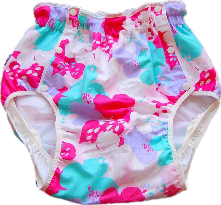 Free Shipping FUUBUU2215-090 adult plastic pants diaper pants adult diaper cover plastic pants incontinence(China (Mainland))