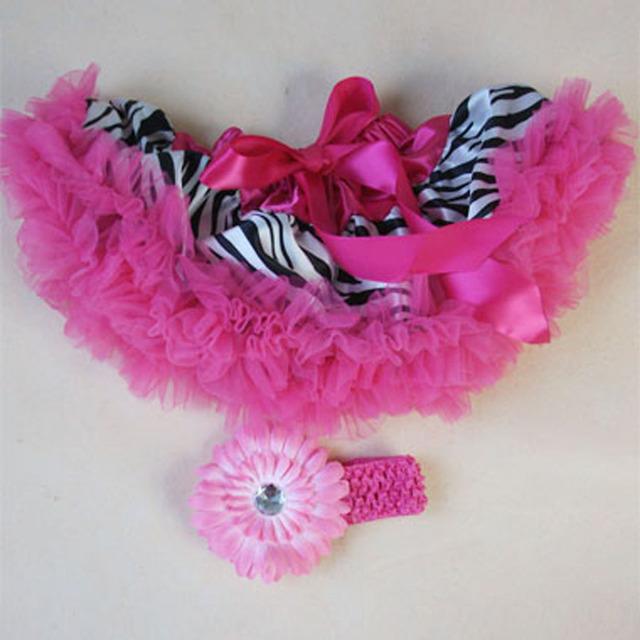 New born baby skirt baby tutu set infant girls tutu pettiskirt with Daisy flowers headband