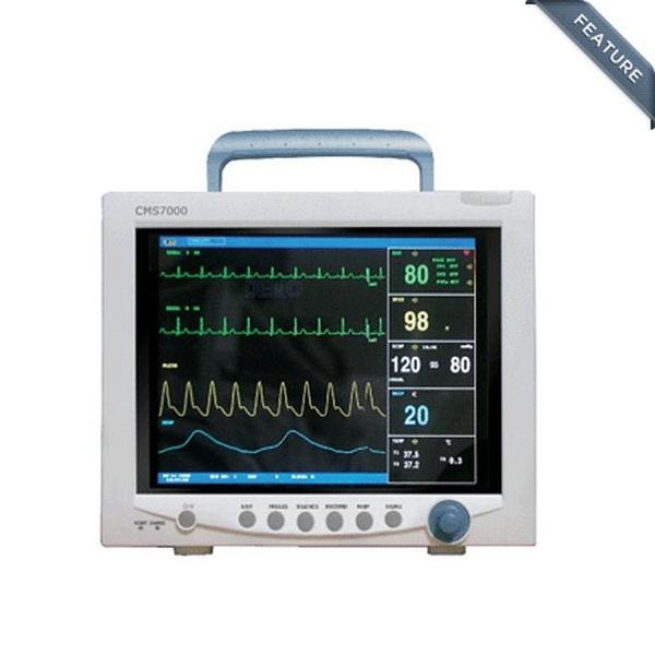 Big toch Screen Multi-parameter patient monitor ECG,RESP,Spo2,NIBP,TEMP,PR,7000+