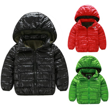 Children Clothes Hot SALE Fall Winter Kids Outwears Coats With For Boys Girls With Hooded Headband Outwear Winter Boy Jackets(China (Mainland))