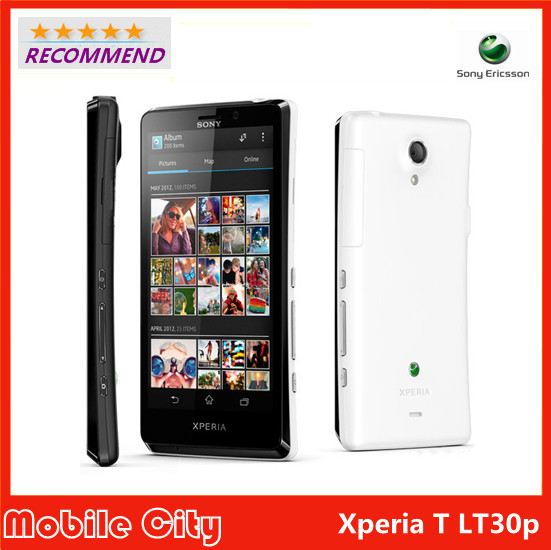 Original Sony Xperia T LT30P Refurbished Cell Phone Dual-core 4.55'' 1.5GHz 16GB ROM 13MP 3G GPS WiFi Android 4.0 Free Shipping(China (Mainland))
