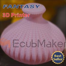 EcubMaker 3d printer for home and industry with ABS and PLA filament