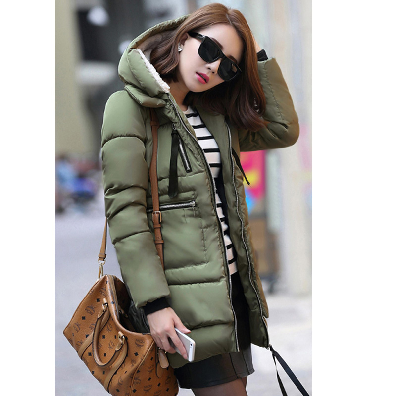 ... 1PC Winter Jacket Women Military Coats Plus Size Thickening Cotton  Hooded Parkas For Women Winter Coat ... - Women Military Coat Picture - More Detailed Picture About 1PC