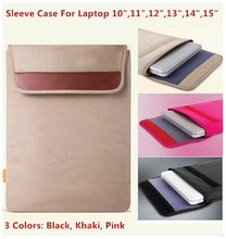 Hot Sleeve Case Bag For Laptop 10,11,12,13,14,15,15.6 inch Computer Bag,Notebook Tablet, For MacBook Bag,Free Drop Shipping.(China (Mainland))