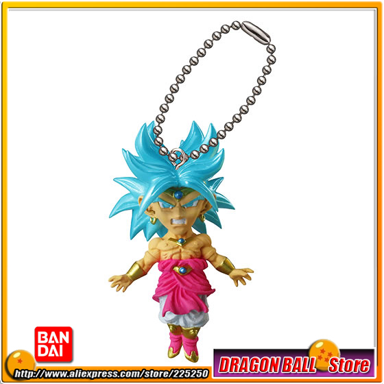 DRAGONBALL Dragon Ball Z Original BANDAI Phone/Key Chain Gashapon PVC Toys Figures UDM Burst 14 - Broly DRAGON BALL Store store