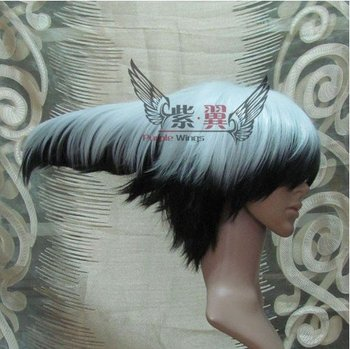 """Mago """"ghost cosplay hair,funny flying short costume accessories wig hair+freeshipping"""