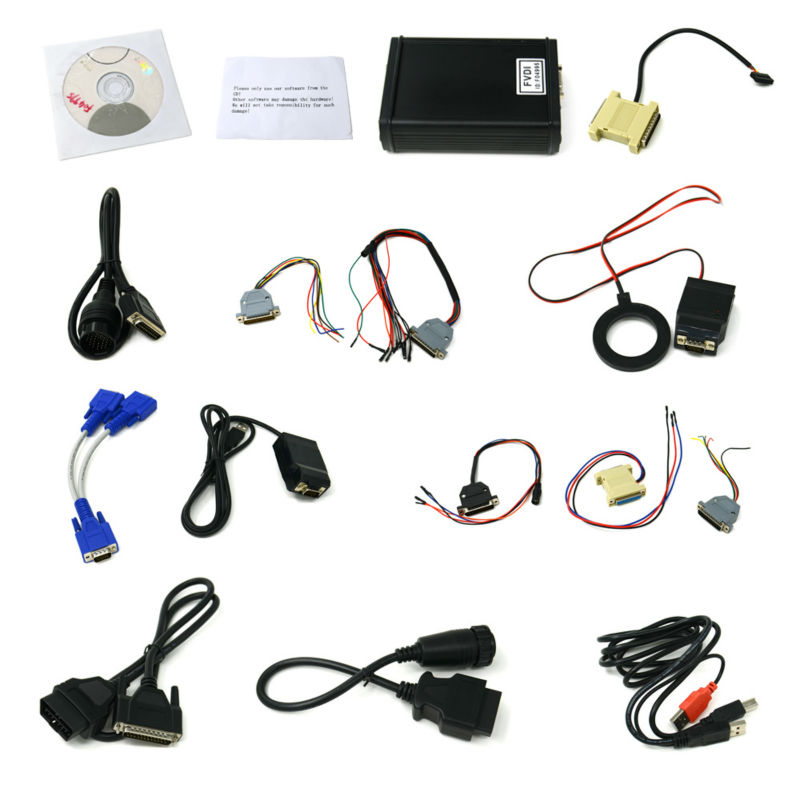 FVDI ABRITES Commander Full Version with 18 software activated for VAG for BMW For Opel For Toyota For Ford etc 18 software(China (Mainland))