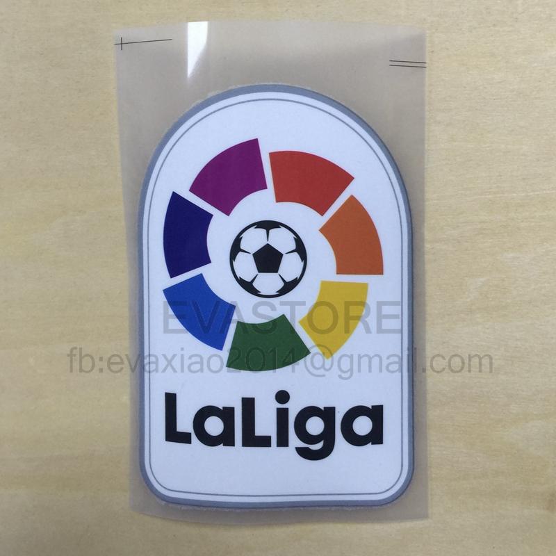 1 epcs 2016-2017 LFP patch New La liga patch player version game patch jersey backpage patch(China (Mainland))