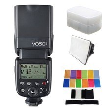 Buy Godox V850II V850 II Built-in 2.4G Supports Master/Slave Li-ion Battery GN60 Canon, Nikon, Pentax, Olympus, for $149.00 in AliExpress store