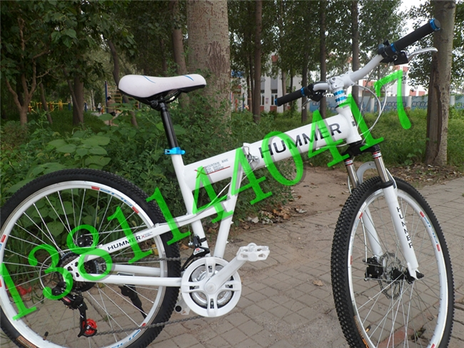 26 hummer mountain bike folding mtb transmission for bicycle disc cross country bicycle(China (Mainland))