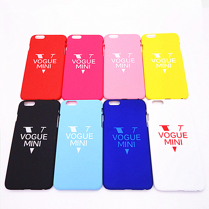 2016 New Listing VOGUE MINI Phone Case cover For iphone 4 4s 5 5s SE 6 6s plus Couple phone shell PC Mobile phone Bags & Case(China (Mainland))