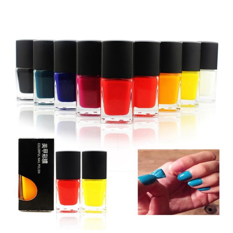 LED UV 15ml Peelable Nail Polish Colorful Varnish For Gel Nails No Odor Shining Natural Healthy Nail Gel Lacquer JH120(China (Mainland))