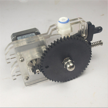 Acrylic extruder , Ultimaker original 3D printer t feeder assemble  for 3 mm filament, injection molding gears, 42 stepper motor
