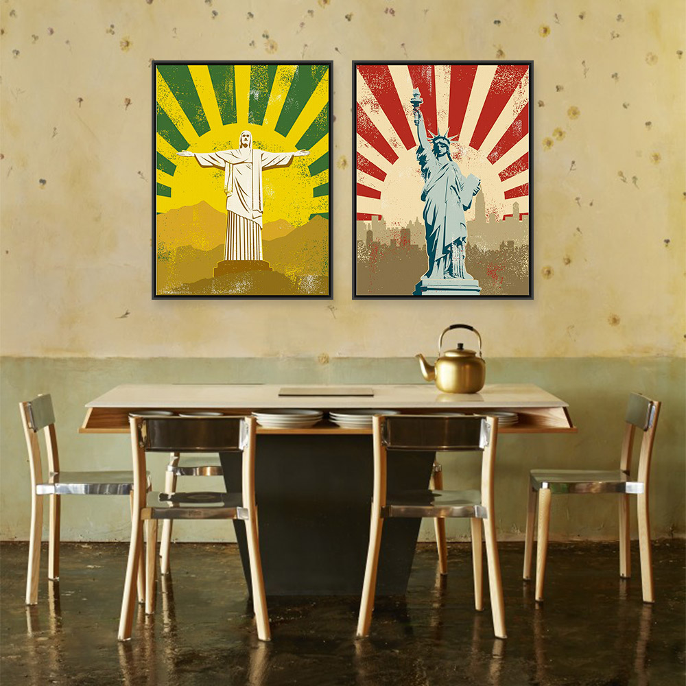 Buy jesus christ statue liberty modern for Hotel decor suppliers