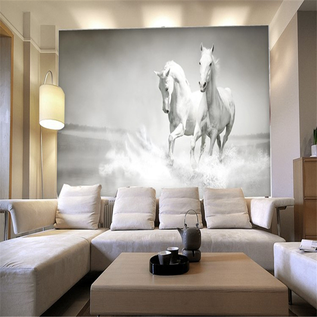 Horses Custom Mural Wallpaper
