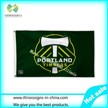 MLS Portland Timbers House Banner Flag 3X5FT Custom Any Flag(China (Mainland))