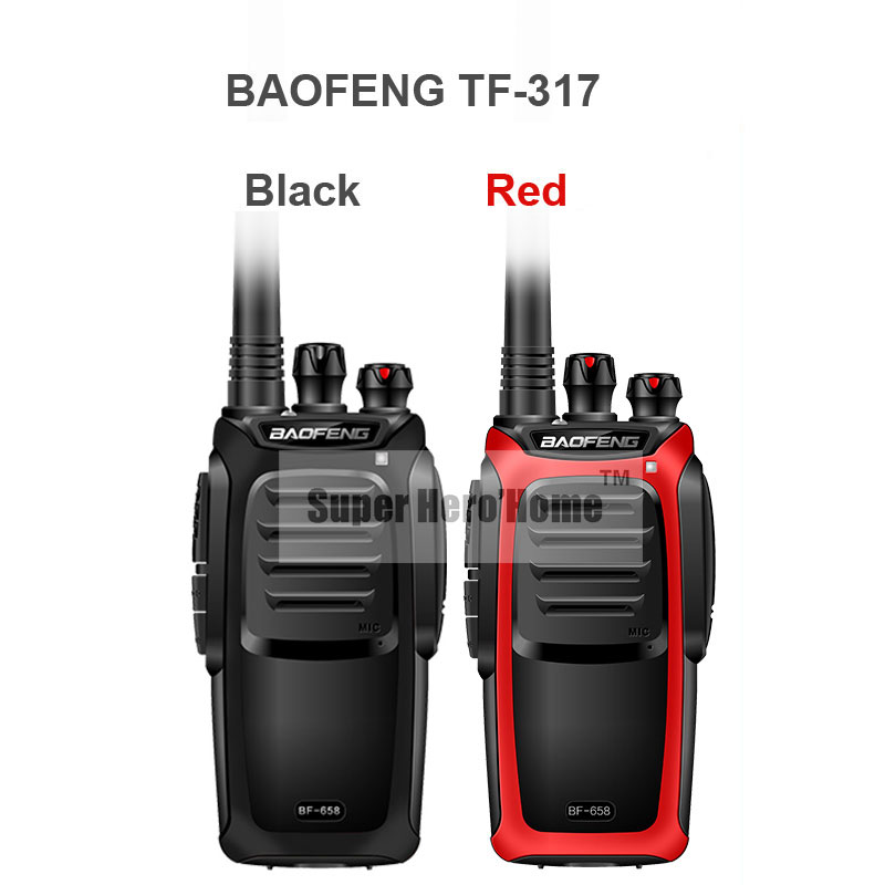 New Baofeng TF-317 Professional Walkie Talkie 5W Power Portable Two Way Radio UHF 400-480MHz Pofung PTT With Lighting(China (Mainland))