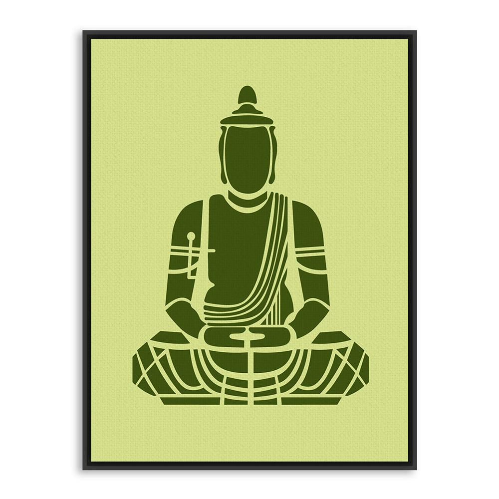India modern minimalist zen buddha buddha portrait art prints poster abstract wall - Insulating exterior paint minimalist ...