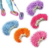 Minion Shoes Pantuflas Chinelo Masculino 1pcs 2015 New Dust Mop Slipper Lazy Quick House Floor Polishing Cleaning Socks K6309 (China (Mainland))