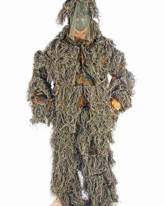 Free shipping PP yarn Bionic Ghillie Suits , camouflage, hunting suit  Recon, Paintball, Airsoft, Photographing, Military --11<br><br>Aliexpress