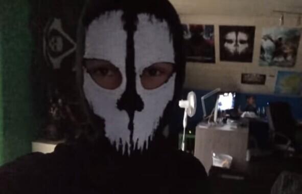 winter skull mask balaclava beanies hats men ghost skul full face ski mask sport training hood
