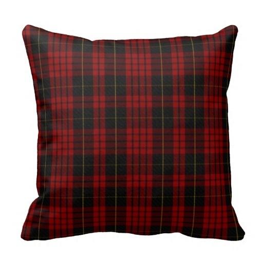 Beds Pillow Cases Stylish Clan Macqueen font b Tartan b font Plaid Pillow Case Size 20