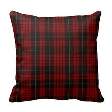 Beds Pillow Cases Stylish Clan Macqueen Tartan Plaid Pillow Case (Size: 20″ by 20″) Free Shipping