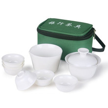 10 PCS/Set new 2013 travel chinese tea set ceramic portable kung fu tea set teacup Chinese porcelain tea set the kung fu teapot