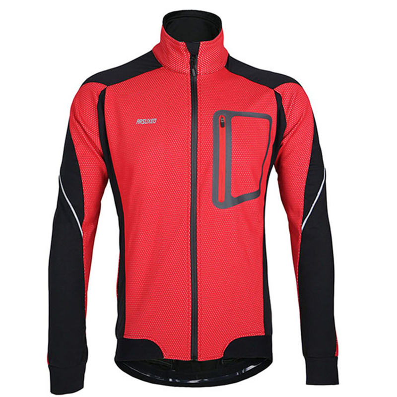 Гаджет  SH254-5 ARSUXEO 2015 Winter Warm Up Thermal Cycling Jacket Bike Bicycle Clothing Windproof Coat Waterproof Breathable Jersey  None Спорт и развлечения