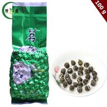 Buy 100g Spring New Arrival Dragon Pearl Jasmine Flavor Green Tea Handmade Ball Green Tea for $7.99 in AliExpress store