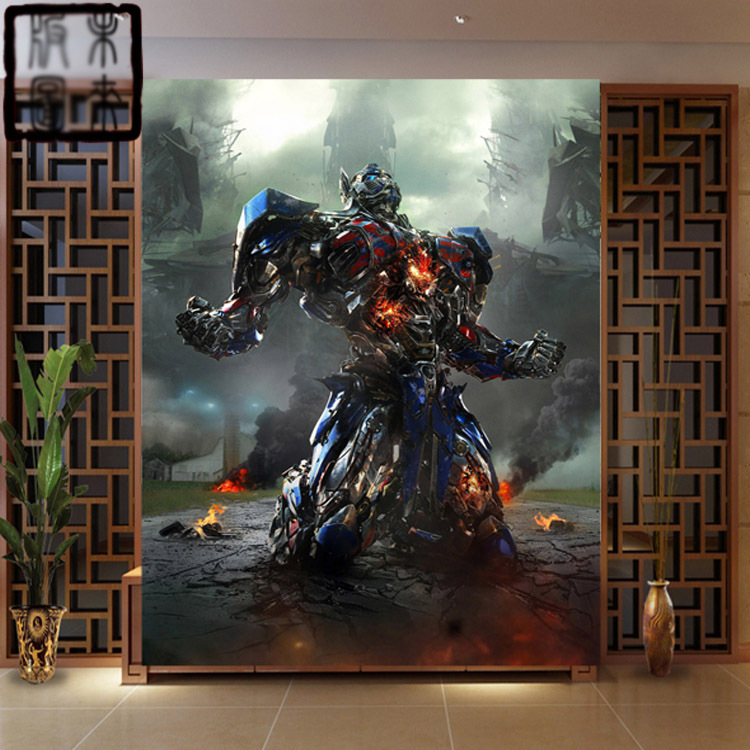 compare prices on transformers wall murals online